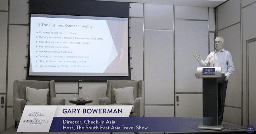 Gary Bowerman at Singapore Club Singapore