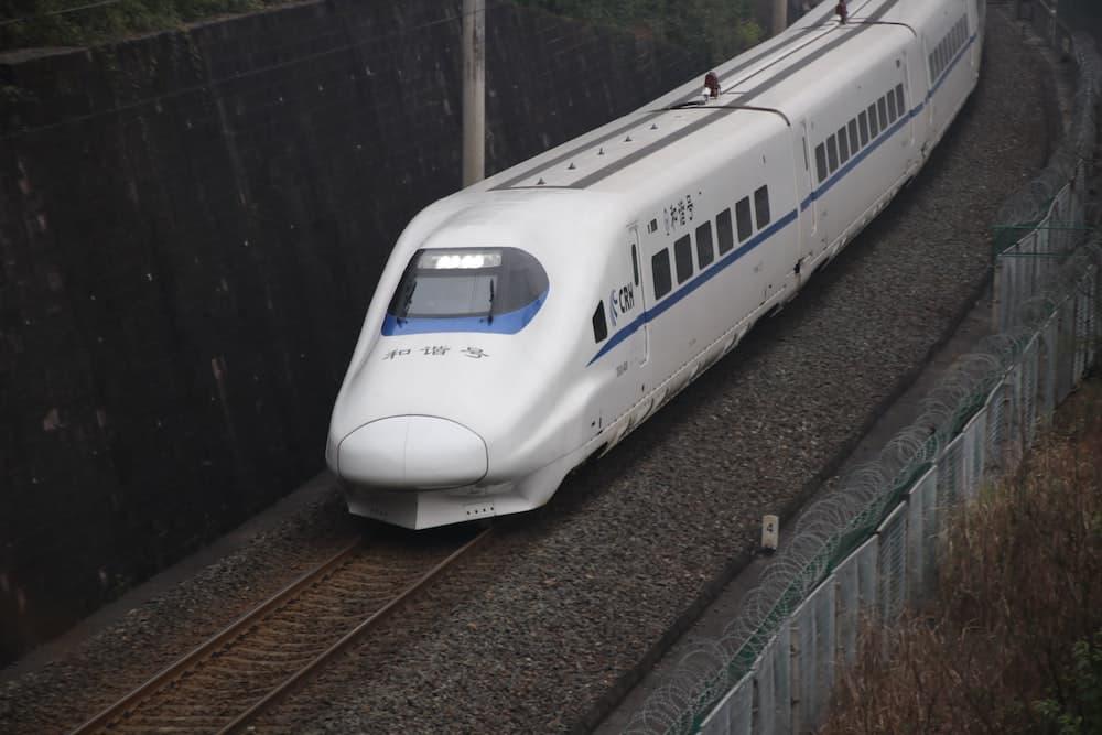 China High-Speed Railway Train
