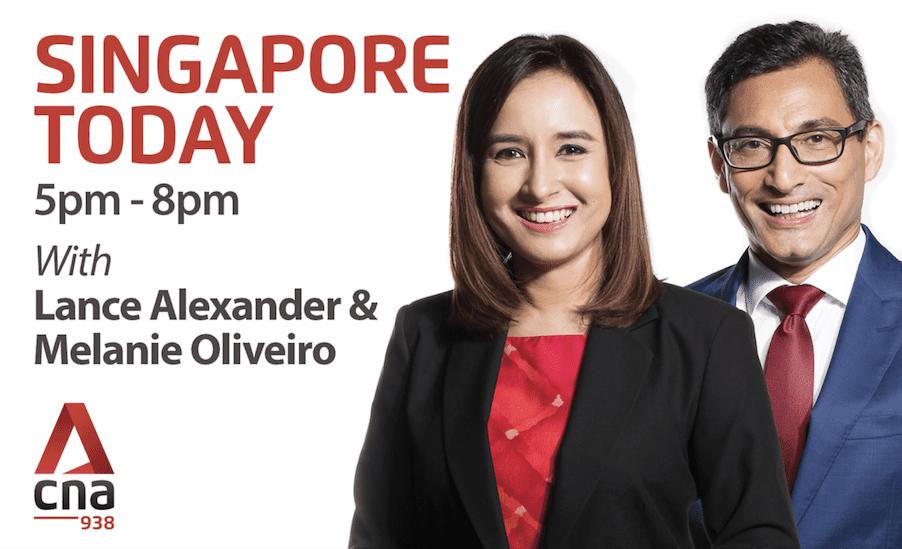 Gary Bowerman on Singapore Today